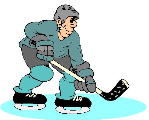 Ice Hockey Clip Art / HOCKY082.gif