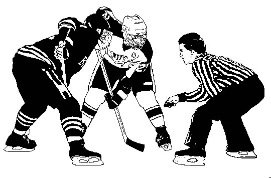 Ice Hockey Clip Art / h74.gif